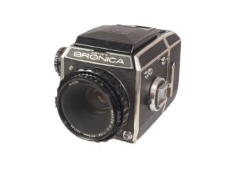 Zenza Bronica ECTL + Nikkor 2,8/75mm