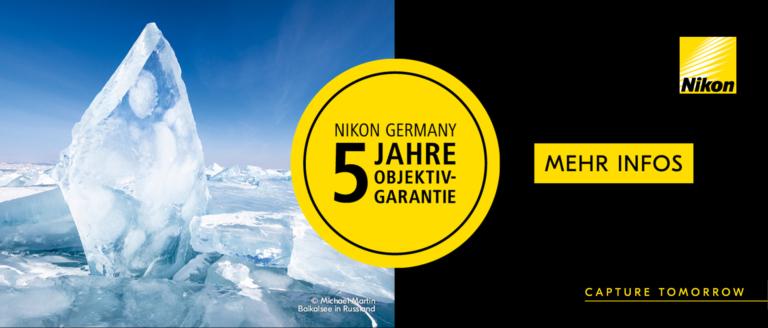 Nikon 5 Jhre Objektiv Garantie Verlängerung