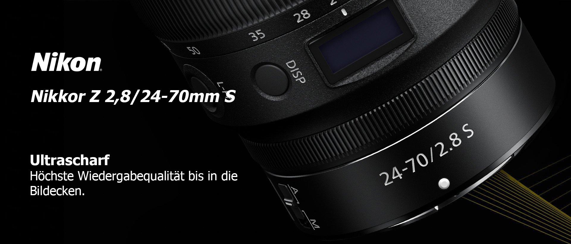 Nikon Z 2,8/24-70mm S