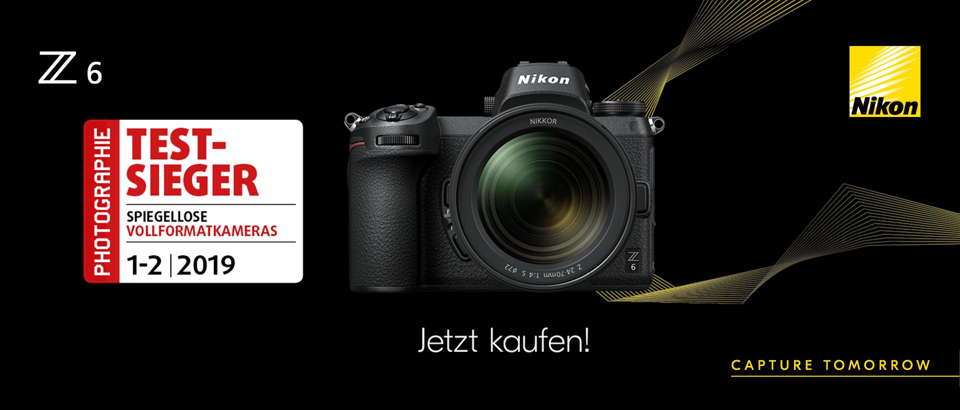 Nikon Z6 Testsieger