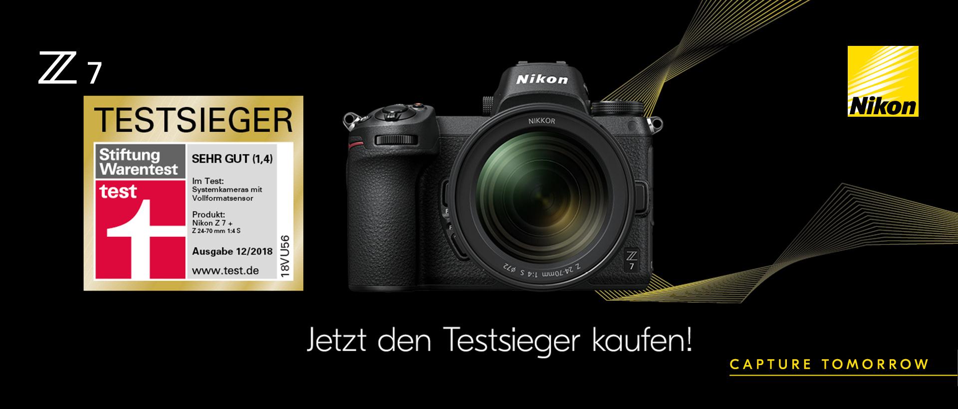 Nikon Z7 Testsieger