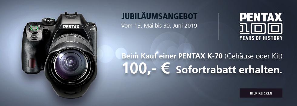 Pentax K70 Jubilaeumsangebot