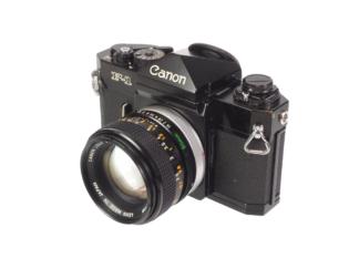 Canon F-1 + FD 1,4/50mm