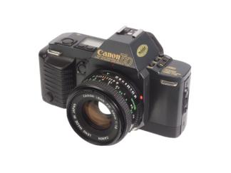 Canon T70 + FD 1,8/50mm