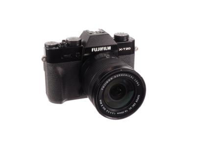 Fuji X-T20 mit 3,5-5,6/16-50mm