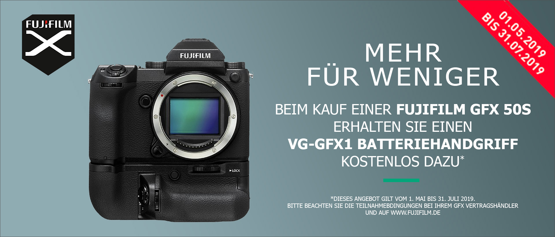 Fujifilm GFX 50S - Mehr für weniger!