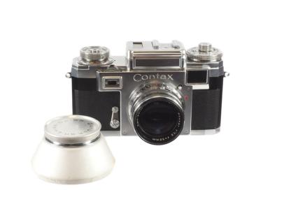 Contax IIIa mit Sonnar 1,5/50mm