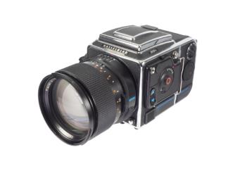 Hasselblad 202FA + 2,0/110mm FE + E12