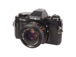 Minolta X 370s + MD 1,7/50mm