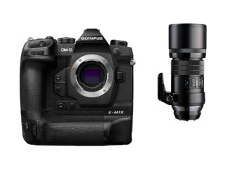 Olympus OM-D E-M1X schwarz + 4,0/300mm Pro