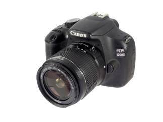 Canon EOS 1200D + 18-55mm