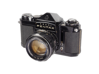 Pentax SV + 1,4/50mm M42