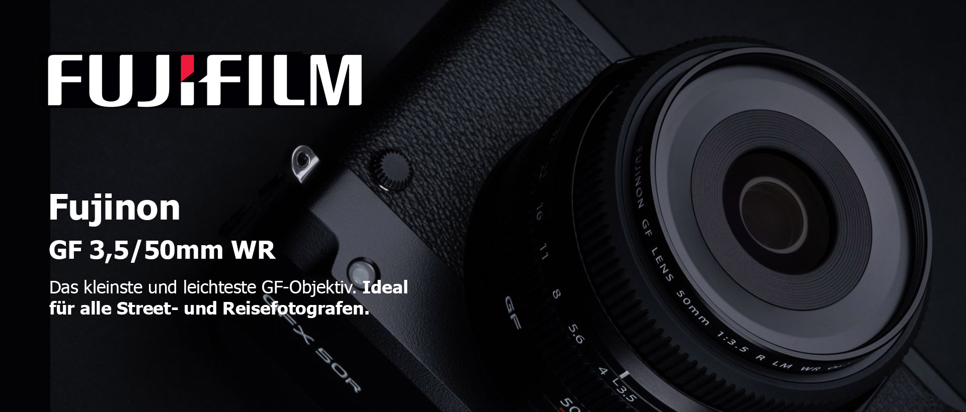 Fujinon GF 3,5/50mm WR