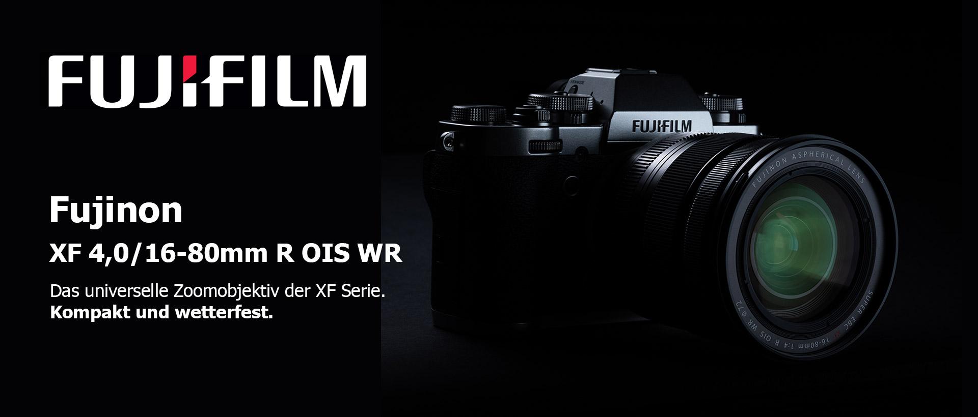 Fujinon XF 4,0/16-80mm R OIS WR