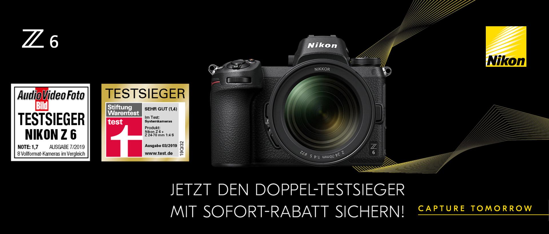 Nikon Z6 - Doppelter Testsieger