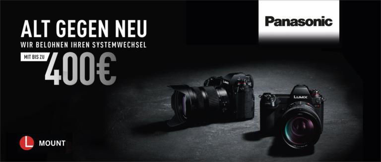 Panasonic Alt gegen Neu Kampagne