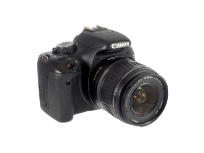 Canon EOS 550D + EF-S 18-55mm
