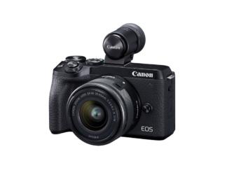 Canon EOS M6 Mark II + 15-45mm schwarz + EVF-DC2 Sucher