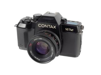 Contax 167MT + Planar 1,7/50mm