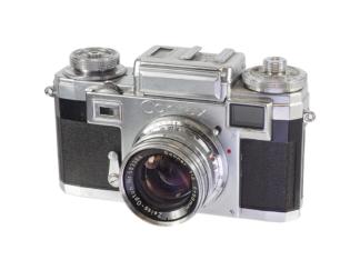 Contax IIIa + Sonnar 2,0/50mm