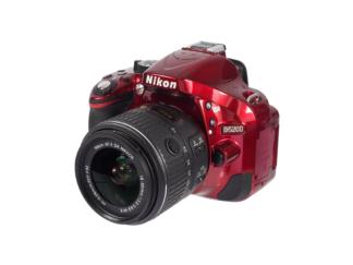 """Nikon D5200 """"Rot"""" + 18-55mm VR"""