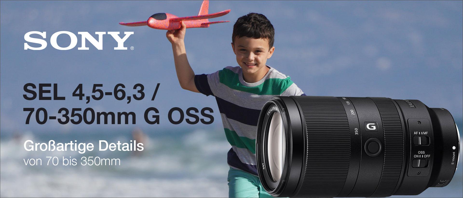 Sony SEL 4,5-6,3/70-350mm G OSS