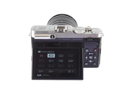 Fuji X-M1 silber + XC 16-55mm