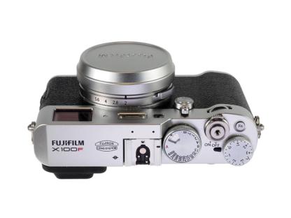 Fuji X100F silber