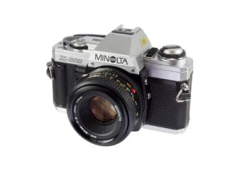 Minolta X-300 + 1,7/50mm