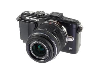 Olympus E-PL5 schwarz + M.Zuiko 3,5-5,6/14-42mm