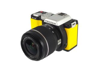 "Pentax K-O1 ""Yellow"" + 3,5-5,6/18-55mm"