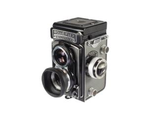 Rolleiflex T 3,5F in Grau