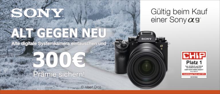 Sony Alt gegen Neu Winter Aktion