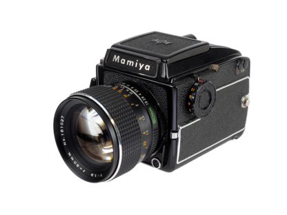 Mamiya 645 1000s + 1,9/80mm