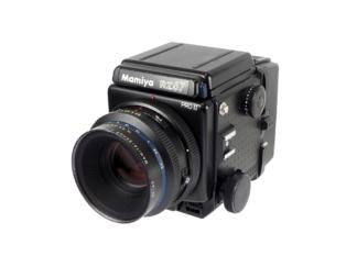 Mamiya RZ67 II + 2,8/110mm