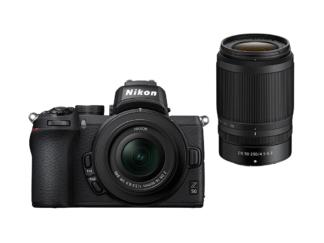 Nikon Z50 Kit mit 3,5-6,3/16-50mm VR und 4,5-6,3/50-250mm + 5-Jahre-Garantie-Aktion