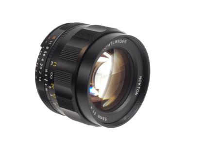 Voigtländer Nokton 1,4/58mm Nikon