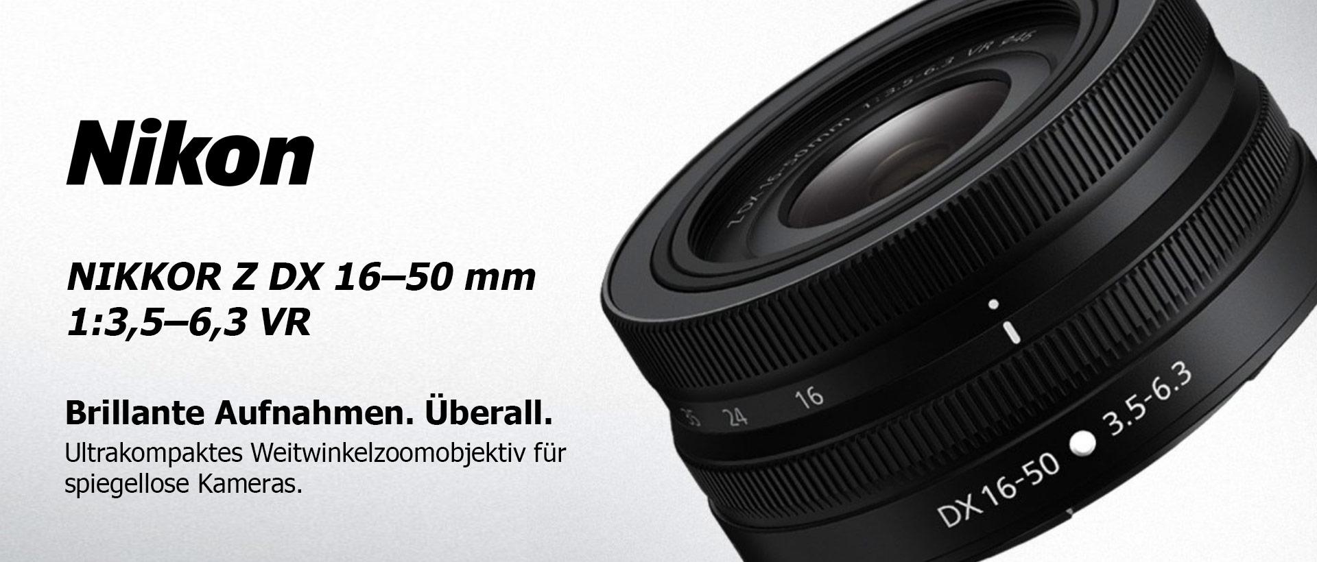 Nikon Nikkor Z DX 16-50mm