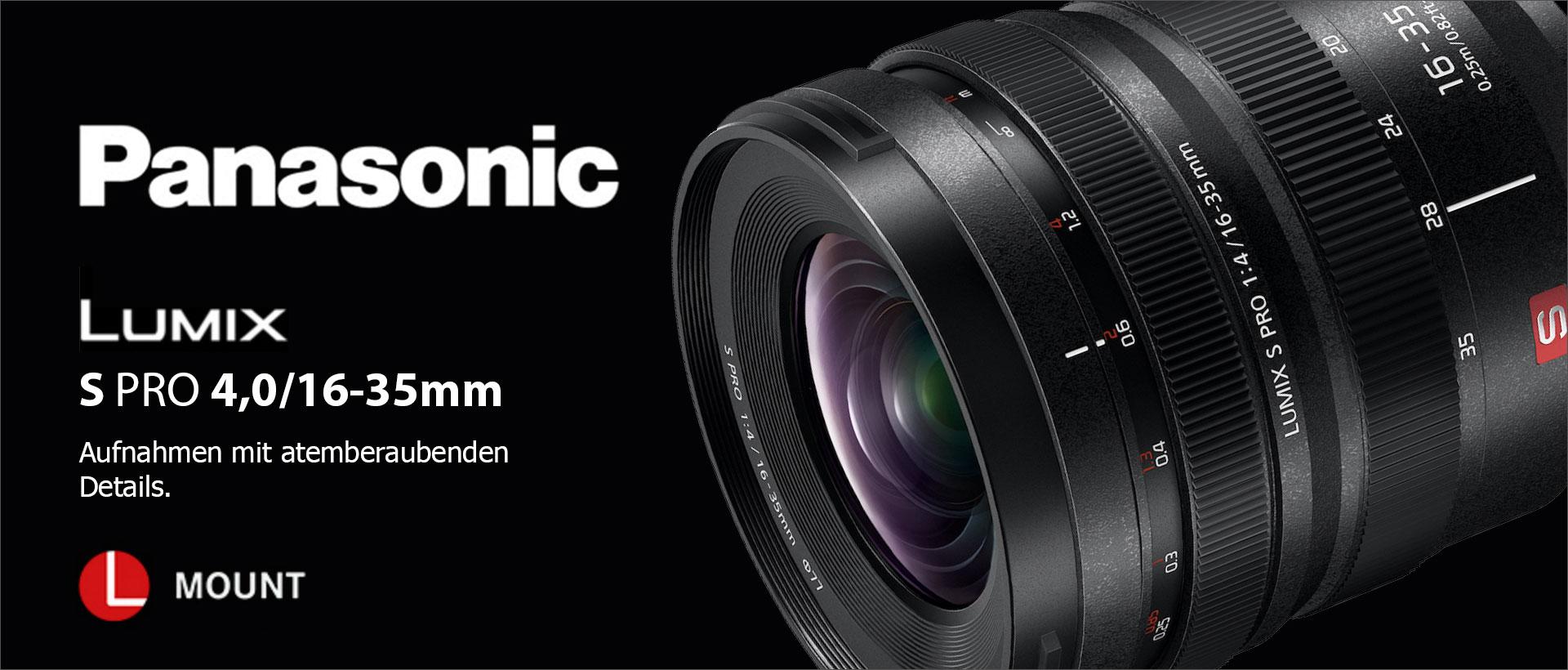 Panasonic Lumix S Pro 4,0/16-35mm