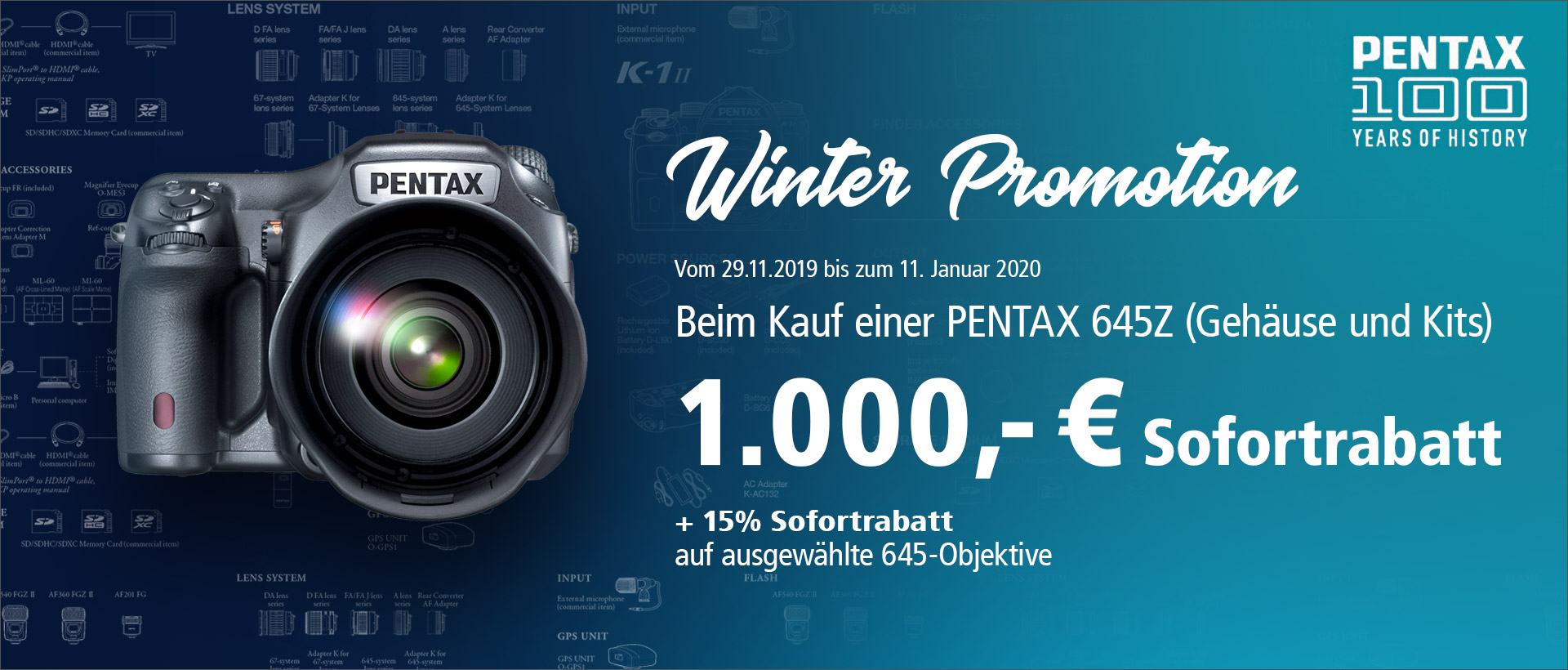 PENTAX 645Z Winter Promotion