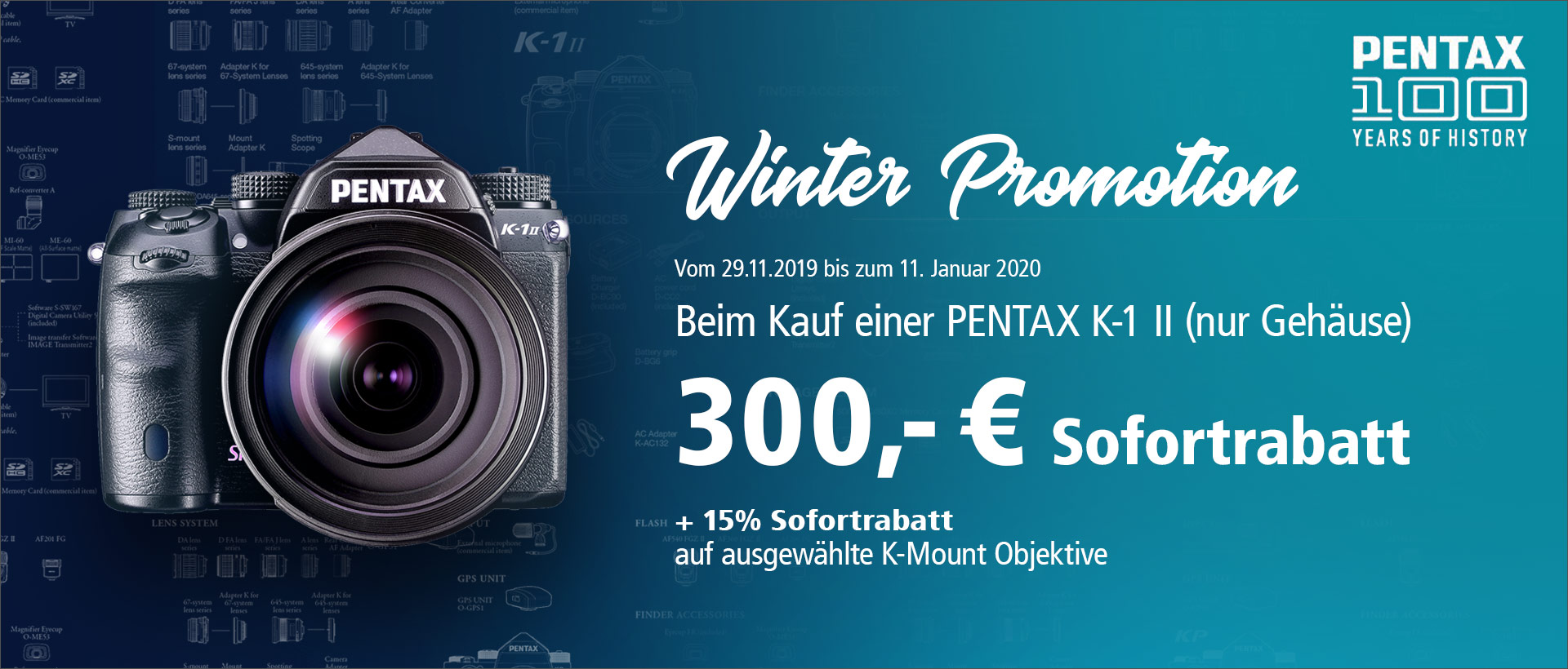 PENTAX K 1 II Winter Promotion