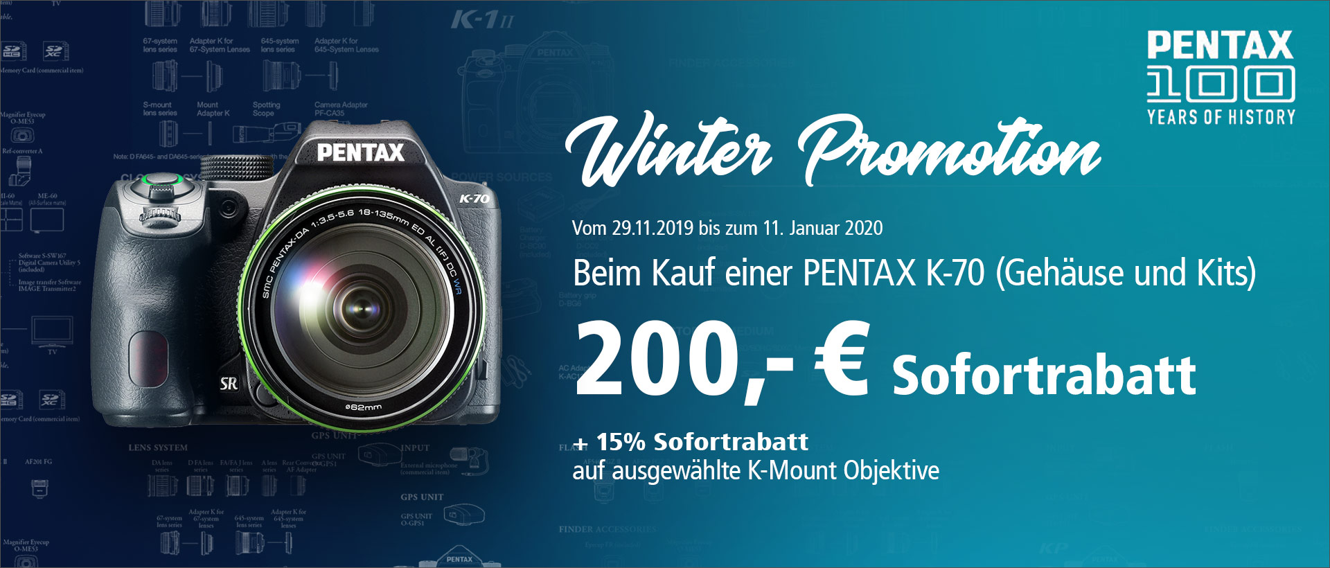 PENTAX K70 Winter Promotion