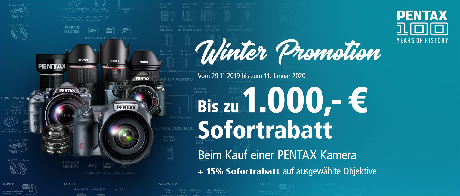 Pentax Winter Promotion 2019
