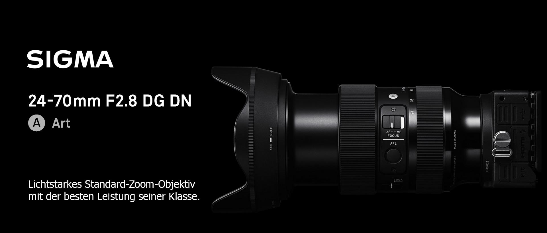 SIGMA 24-70mm F2.8 DG DN  Art – L-Mount