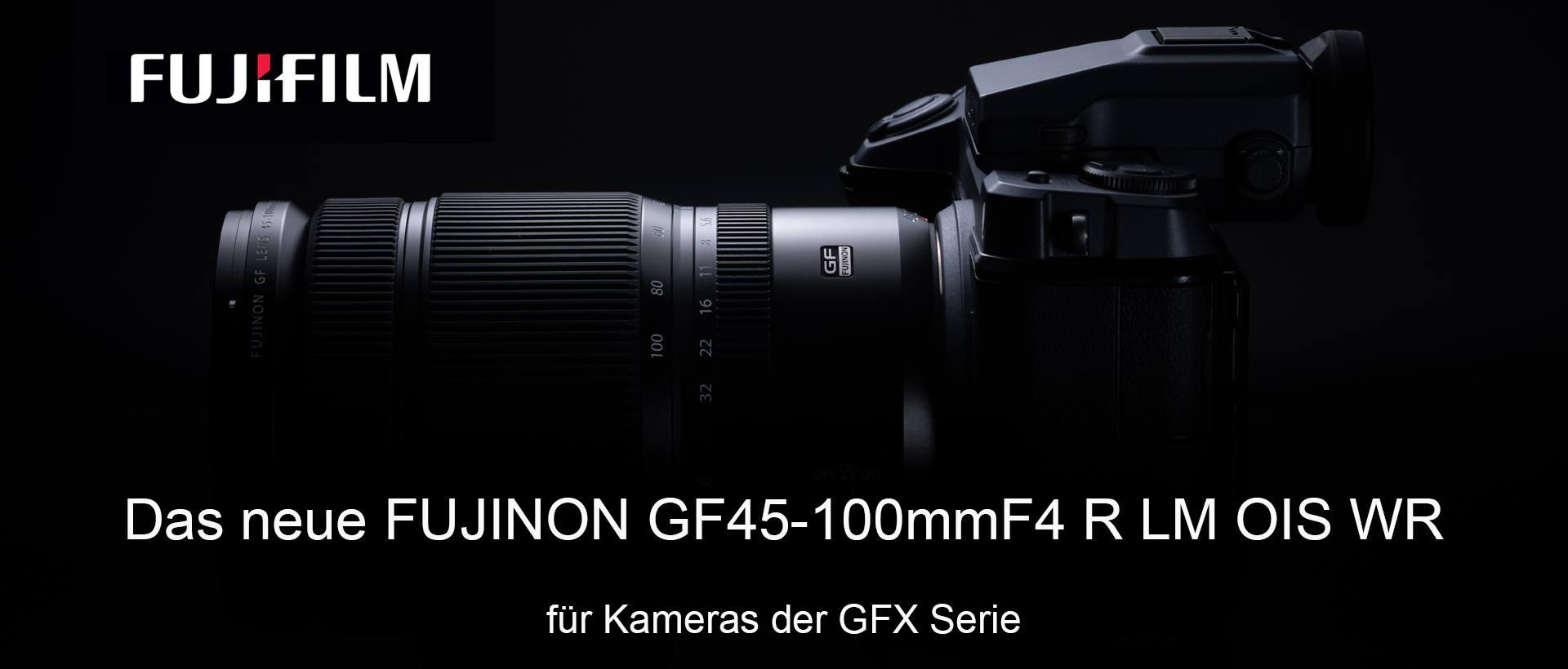 Fujinon GF 4,0/45-100mm Neu