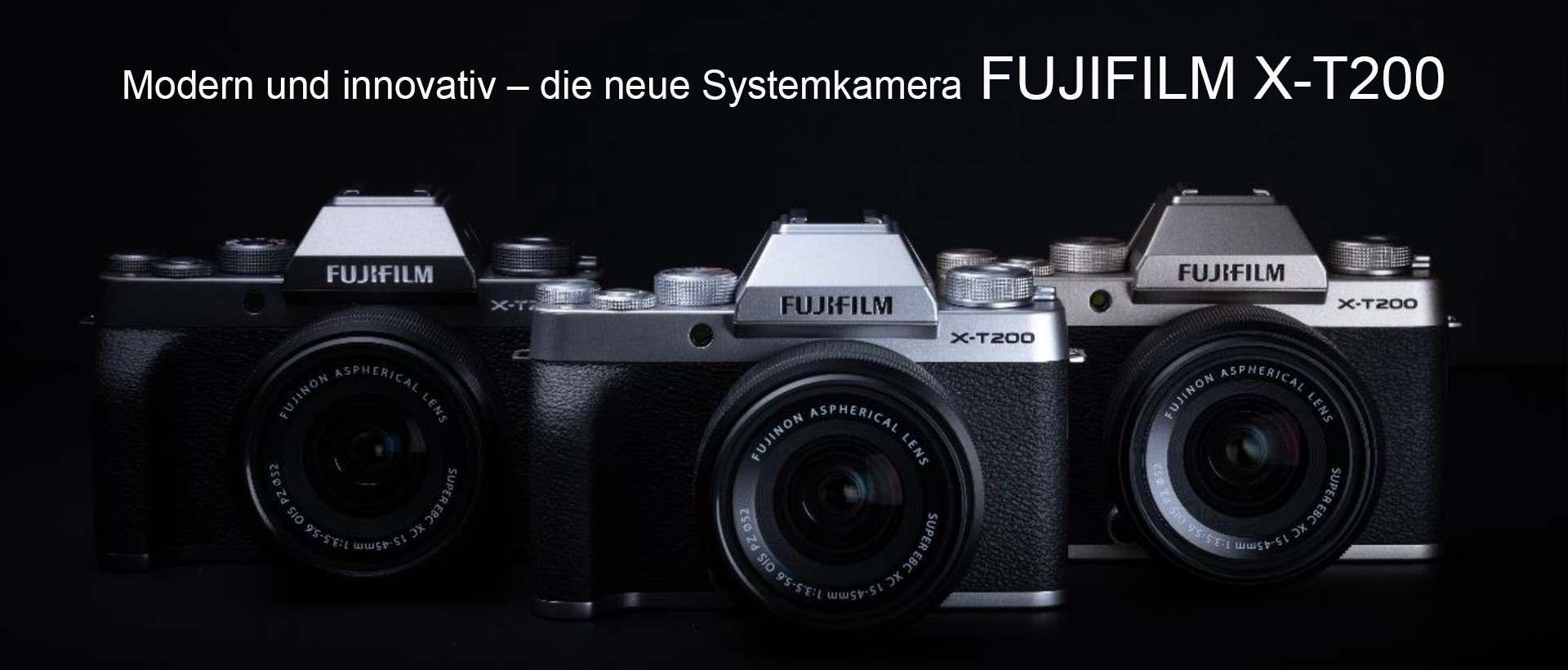 Fuji X T200 Neu