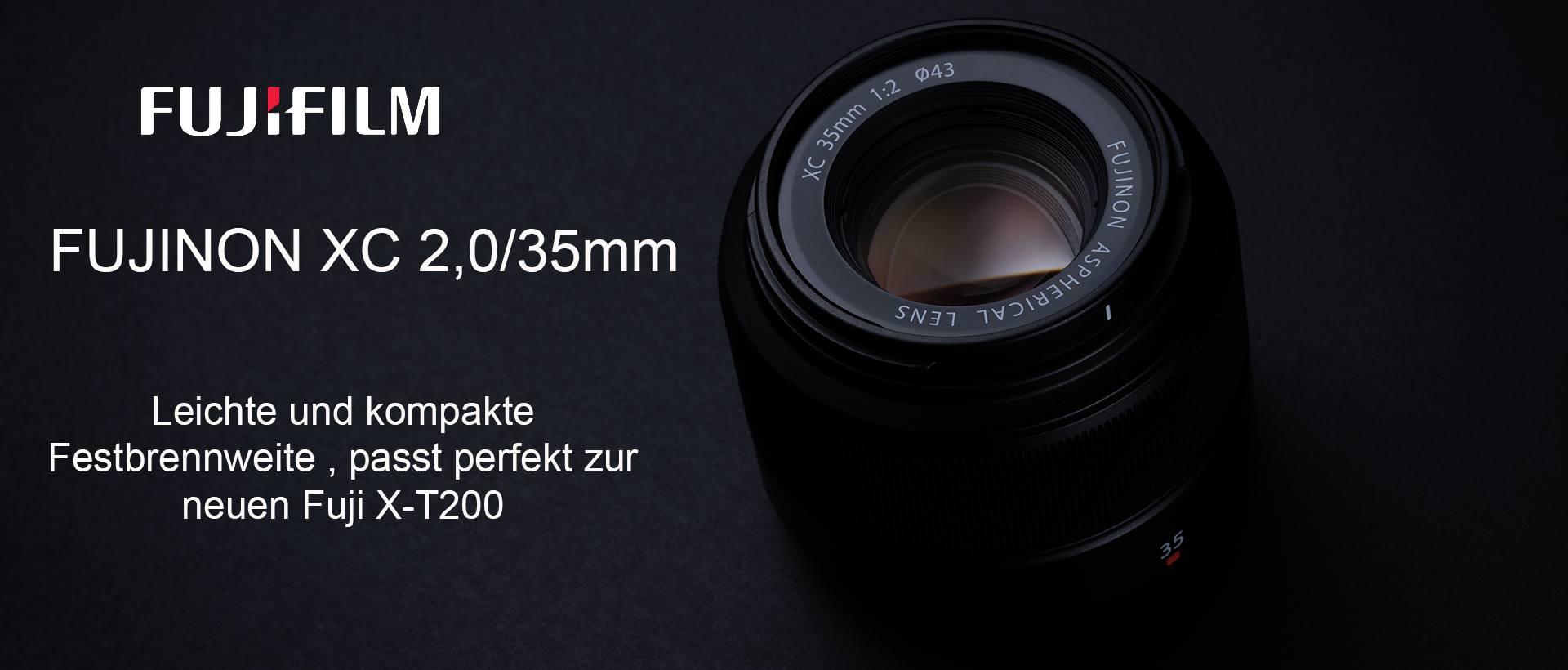 Fujinon XC 2,0/35mm Neu