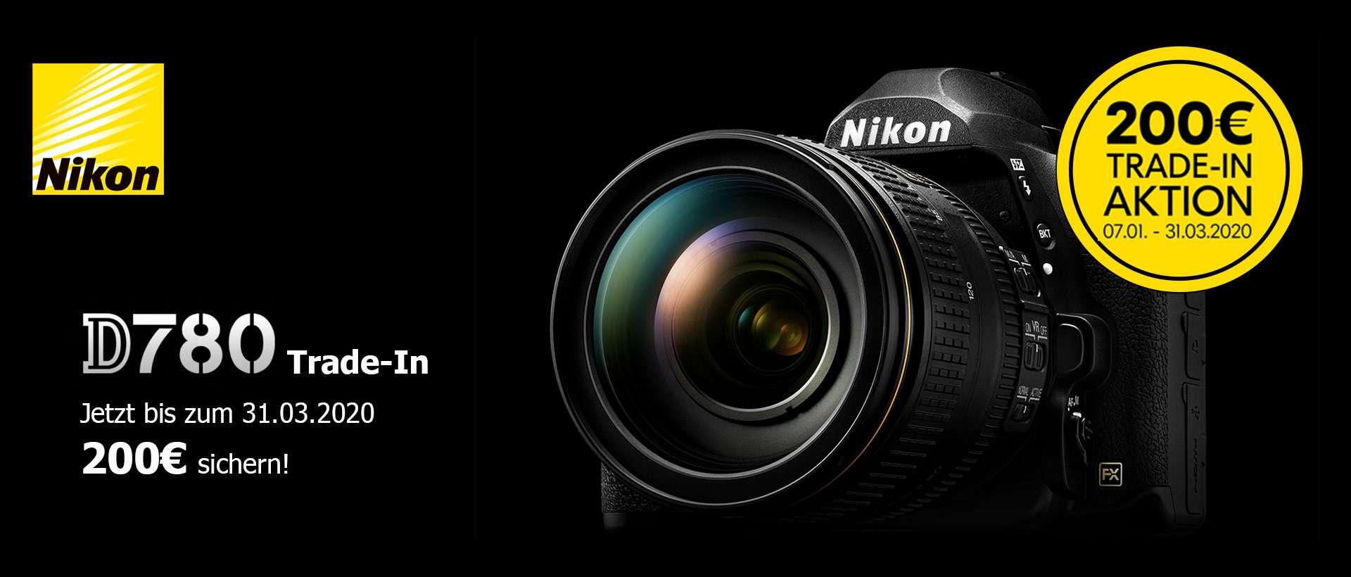 Nikon D780 Trade-In Aktion