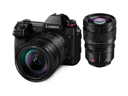 Panasonic Lumix S1 + 4,0/24-105mm + 1,4/50mm