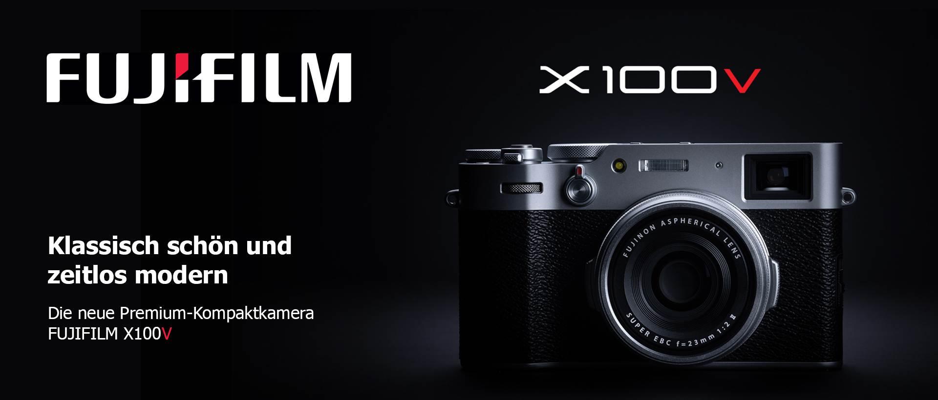 Fuji X100V schwarz